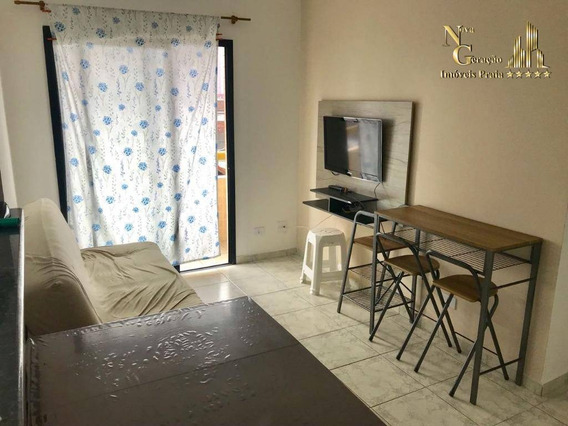 Apartamento Residencial 1 Dormitório A Vista R$ 150.000,00 À Venda, Vila Tupi, Praia Grande. - Ap1465