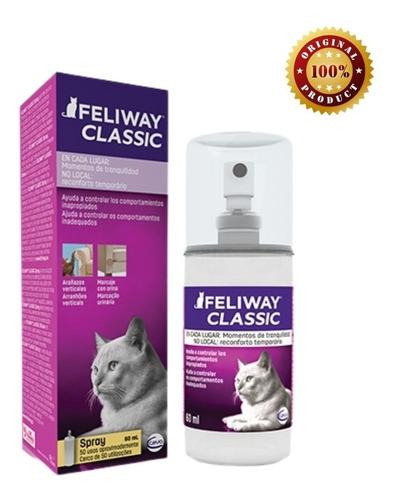 Imagen 1 de 1 de Feliway Classic Spray 60 Ml - Envío Gratis