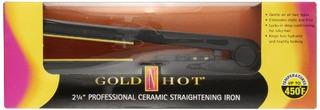 Flat N Hot Gh2145 2-1 / 4 Plancha De Cerámica Profesional