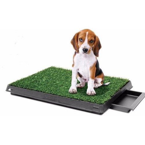 Bandeja Sanitaria Con Bandeja Baño Mascotas Pet Cesped Perro
