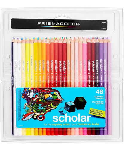 Lapices Prismacolor Scholar 48 Colores Importados