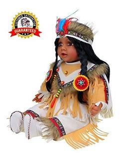 22 Nativos Americanos Indios Muñeca De Vinilo Malini Cole