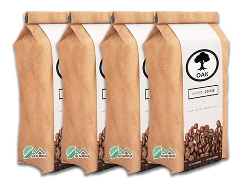 Café Espresso Gourmet Grãos Premium Notas De Chocolate 4kg