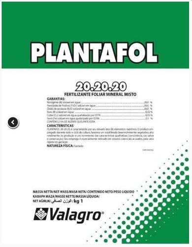 Plantafol 20-20-20 Adubo 1kg P/ Floração De Rosa Do Deserto