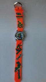 Relógio Peppa Pig - Laranja Cod. 00334