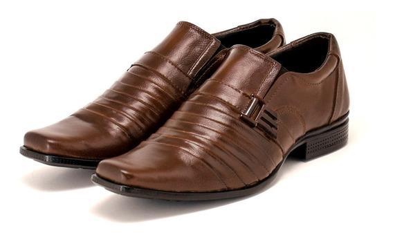 Sapato Masculino Social Couro Legítimo Super Confortável!!