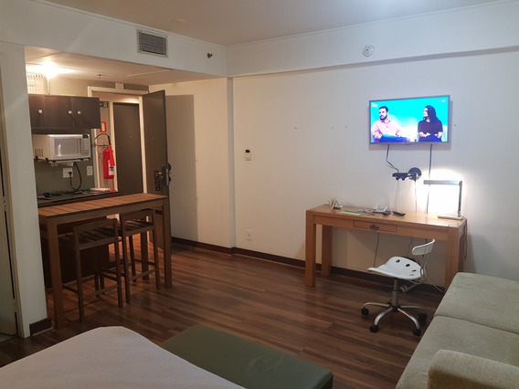 06127 - Flat 1 Dorm, Moema - São Paulo/sp - 6127