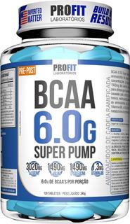 Bcaa 6.0g Ultra Concentrado Super Pump 120 Tabletes - Profit