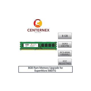 8 Gb De Memoria Ram Para Supermicro B8dtg (ddr38500 Reg) Act