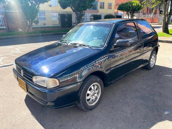 Volkswagen Gol Coupe Mt1600cc Negro Sa Rines