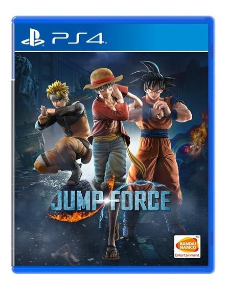 Promoção Jump Force Ps4 Midia Fisica Original
