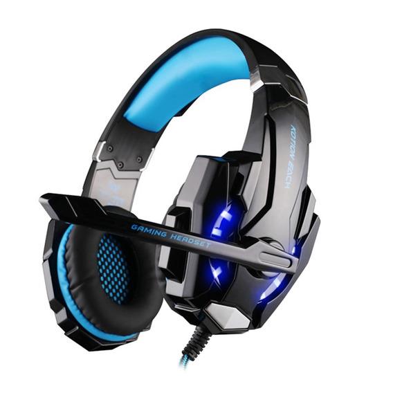 Sobre - Orelha 3.5mm Gaming Fone Headband Jogo Fones De Ouvi