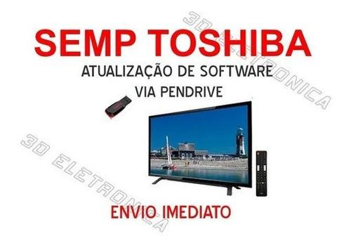 Imagem 1 de 1 de Atualização De Software Firmware Tv Sti Semp Toshiba Le4052i