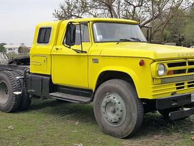 Tractor Dodge Con Mercedes 1518 Y Eje Neumatico