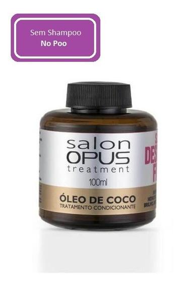 Óleo De Coco Capilar Salon Opus 100ml Hidratação E Maciez
