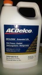 Refrigerante Acdelco Color Naranja 3.78 Lt Original