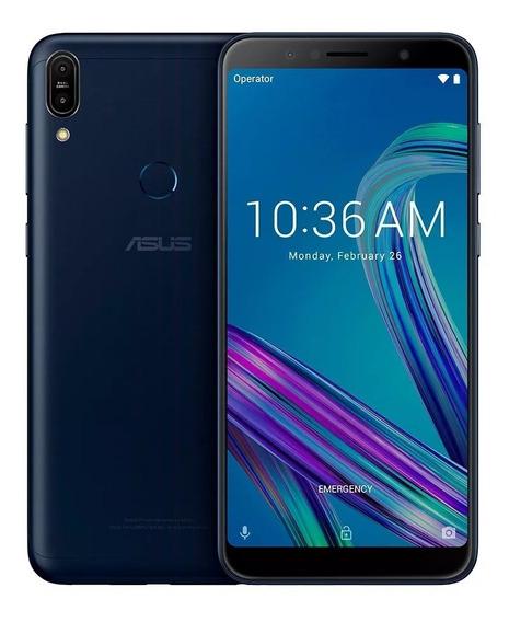 Celular Asus Zenfone Max Pro M1 Preto Zb602 32gb 3gb Tela 6