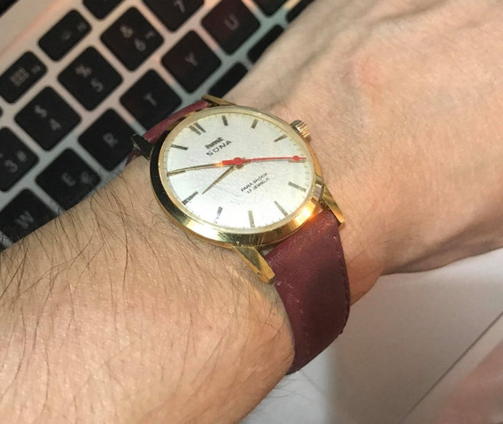 Reloj Hmt Sona Caballero Citizen Slim Automatico India 1971