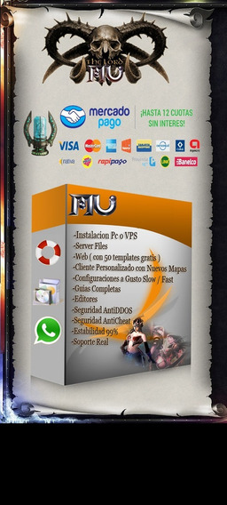 Mu Online, Muonline , Server Files, Web,creacion De Server,