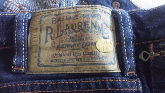 Calça Jeans Feminina Polo Ralph Lauren Tamanho 27