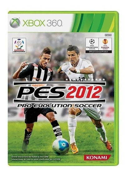 Pro Evolution Soccer 2012 - Xbox 360 - Original - Usado