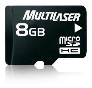 Cartão Memória Multilaser 08gb - Ult Peças