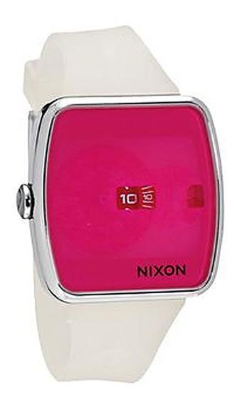 Relógio Nixon Iris Clear Pink - Original Em Promoção