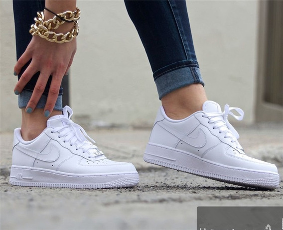Nike Force Blanca Hombre Y Mujer