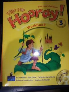 Libro De Ingles Hip Hip Hooray 3 Workbook - Student Book Cd