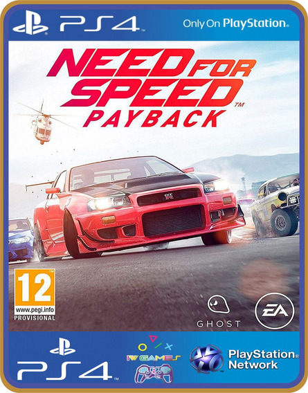 Ps4 Need For Speed Payback Psn Original 1 Mídia Digital