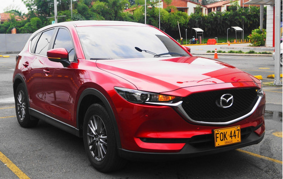 Mazda Cx5 Touring 2.5 Modelo 2019 Roja Diamante