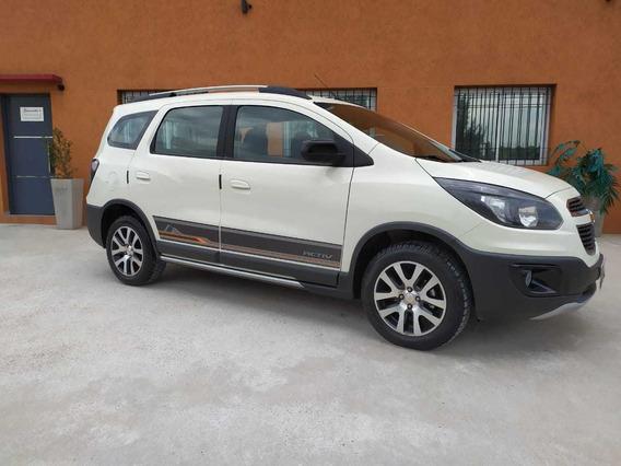 Chevrolet Spin Activ Aut 1.8 2018 5 P Nafta Pointcars