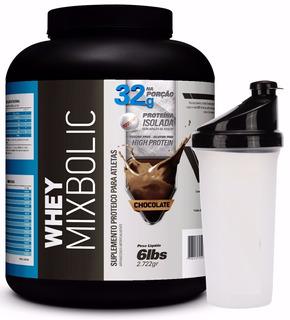 Whey Mix Bolic 6 Lbs ( 2722kg ) R$ 164,99