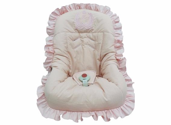 Capa Para Bebê Conforto Rosê