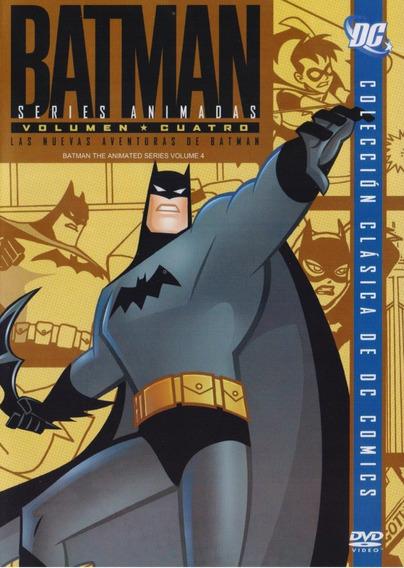 Batman La Serie Animada Volumen 4 Cuatro Dvd