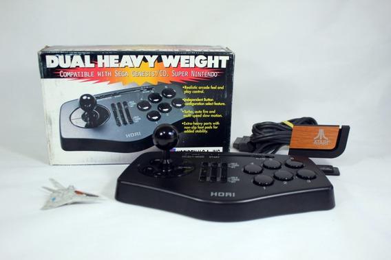 Dual Controle Sega Super Nintendo Turbo [ Hori ] Arcade 6bot