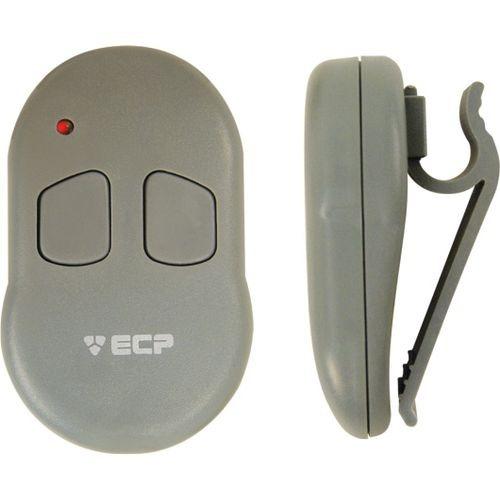 Controle Remoto Para Alarme E Portão Fix 2 Botões Com Clip