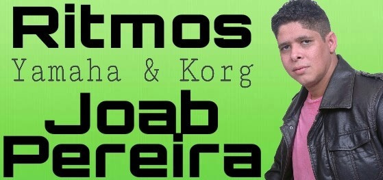 Samples Internos Yamaha + 400 Ritmos - Joab Pereira