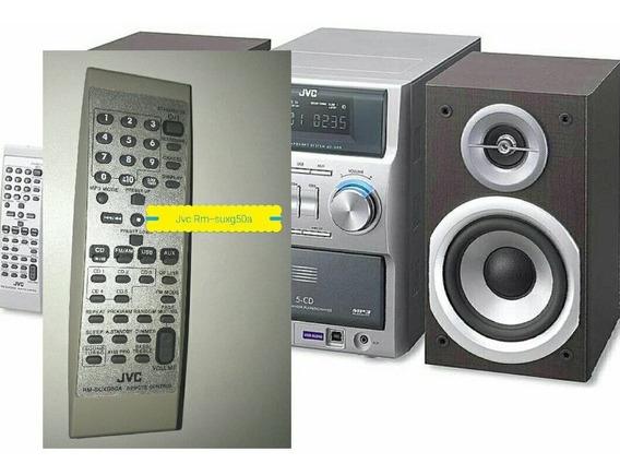 Controle Remoto Jvc Rm-suxg50a P/micro System Ótimo Estado .
