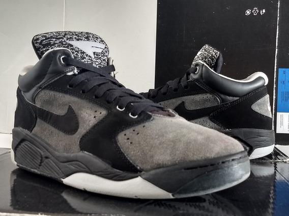 Nike Air Flight Lite (27.5cm) Pippen Spurs Jordan Suedé