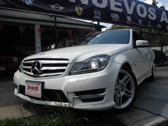 Mercedes Benz C350 Sport 2012 Automatico Quemacocos Piel
