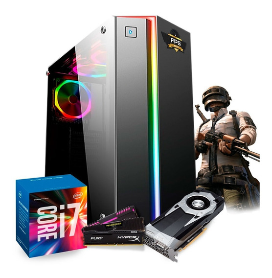 Pc Gamer Powered By Asus I7 7700 (gtx 1060) 8gb # 2 Anos