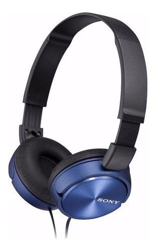 Imagen 1 de 2 de Audífonos Sony ZX Series MDR-ZX310 blue