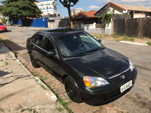 Honda Civic 2002 1.7 Lx Aut. 4p, Completo Tudo Funcionando!!