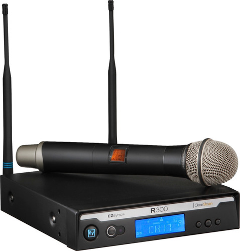 Microfono De Mano Inalambrico Electro Voice R300-hd