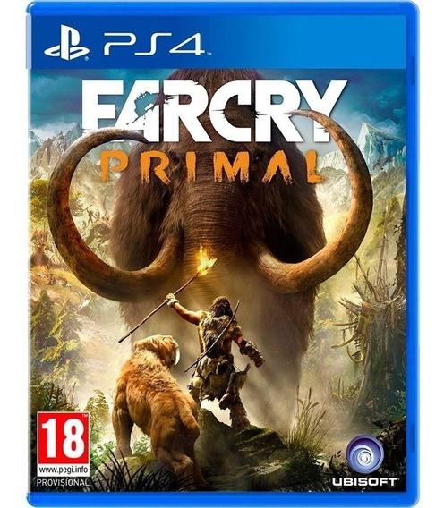 Farcry Primal Ps4 Midia Fisica Cd Original Lacrado Novo Br