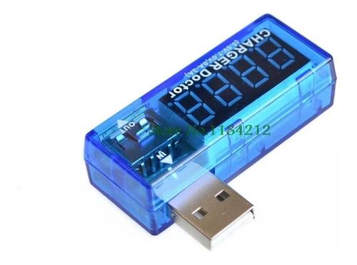 Tester Voltimetro Amperimetro Cargador Usb Voltaje Ampreraje