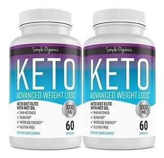 K E T O Advanced Weight Loss 1000mg - Unidad a $750