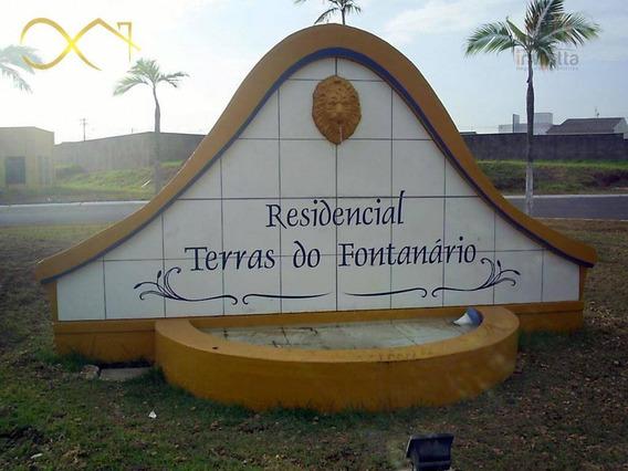 Terreno Residencial À Venda, Condomínio Terras Do Fontanário, Paulínia - Te0389. - Te0389