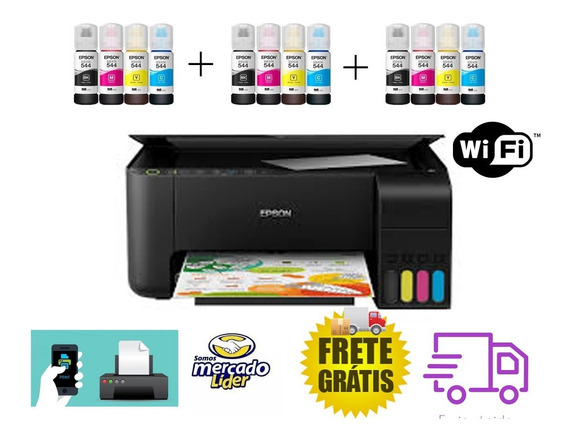 Impressora Multifuncional Epson L3150 + 200 Folhas Brinde
